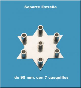 Estrella 2 triángulos 6 puntas